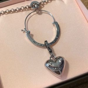 Juicy Couture Jewelry - Juicy Couture charm catcher - silver